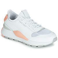 Shoes Women Low top trainers Puma WN RS-0 SOUND.WH-PEACH White / Grey / Pink