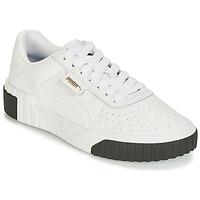 Shoes Women Low top trainers Puma CALI White / Black
