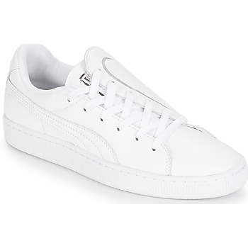 Shoes Women Low top trainers Puma WN BASKET CRUSH EMBOSS.WH White