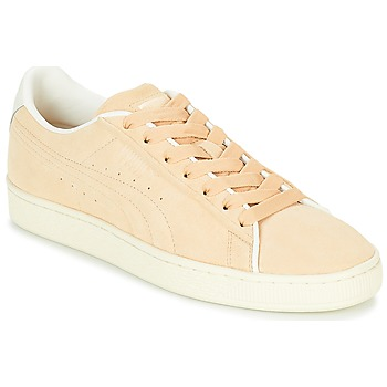 Shoes Men Low top trainers Puma SUEDE RAISED FS.NA V-WHIS Beige