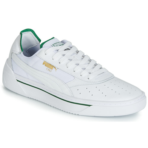 lo mismo marea por favor confirmar  Puma CALI.WH-AMAZON GREEN-WH White / Green - Free delivery   Spartoo NET !  - Shoes Low top trainers Men USD/$98.00