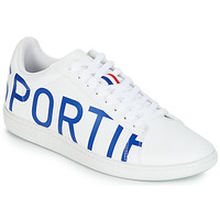Shoes Men Low top trainers Le Coq Sportif COURTSET White / Blue