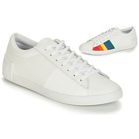Shoes Women Low top trainers Le Coq Sportif FLAG White / Multicoloured