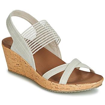 Shoes Women Sandals Skechers BEVERLEE Beige