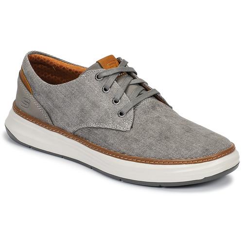Shoes Men Low top trainers Skechers MELFIS Grey