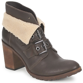 Shoes Women Ankle boots Un Matin d'Ete BRIAC Ebony