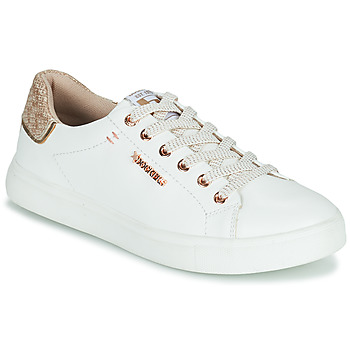Shoes Women Low top trainers Dockers by Gerli 44MA201-594 White