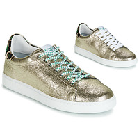 Shoes Women Low top trainers Serafini J.CONNORS Silver / Green