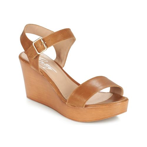 Shoes Women Sandals Betty London CHARLOTA Brown