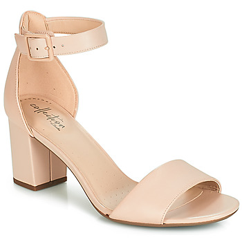 Shoes Women Sandals Clarks DEVA MAE Nude