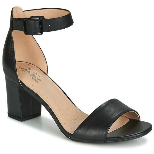 Shoes Women Sandals Clarks DEVA MAE Black
