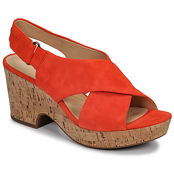 Shoes Women Sandals Clarks MARITSA LARA Orange