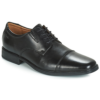 Shoes Men Derby shoes Clarks TILDEN CAP Black
