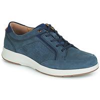 Shoes Men Low top trainers Clarks UN TRAIL FORM Marine