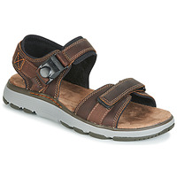 Shoes Men Sports sandals Clarks UN TREK PART Brown