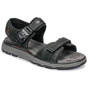 Shoes Men Sandals Clarks UN TREK PART Black