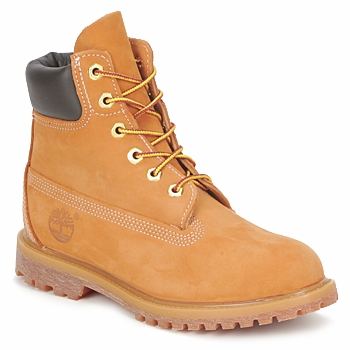 Shoes Women Mid boots Timberland 6 IN PREMIUM BOOT Beige