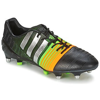 Shoes Men Football shoes adidas Performance NITROCHARGE 1.0 SG Black / Yellow