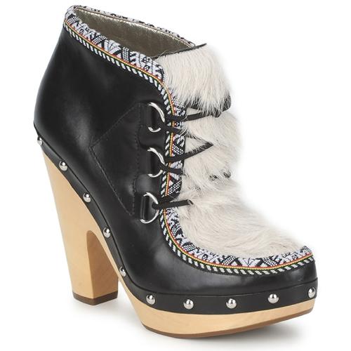 Shoes Women Low boots Belle by Sigerson Morrison BLACKA Beige / Black