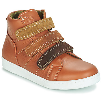 Shoes Boy Mid boots André TRITON Camel