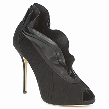 Shoes Women Court shoes Casadei 8066N126 Peplum nero