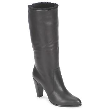 Shoes Women Boots Michel Perry CALF Black