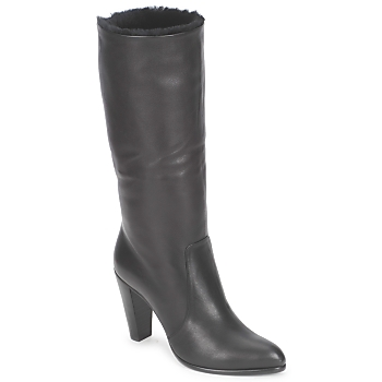 Shoes Women Boots Michel Perry CALF Black