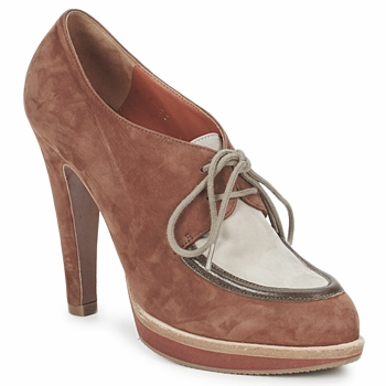 Shoes Women Low boots Michel Perry SADDLE Madras-saddle