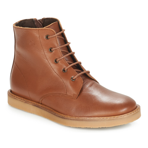 Shoes Children Mid boots Citrouille et Compagnie HATINE Brown