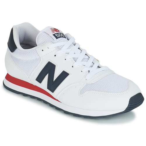 New Balance GM500 White - Free delivery   Spartoo NET ! - Shoes ...