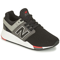 Shoes Boy Low top trainers New Balance GS247 Black