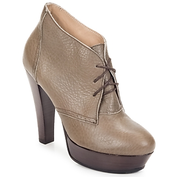 Shoes Women Low boots Keyté ETRIOU Taupe