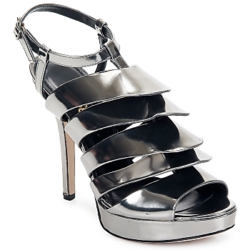 Shoes Women Sandals Jerome C. Rousseau QUORRA Pewter
