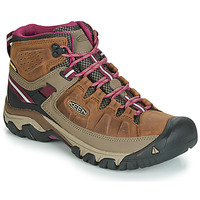 Shoes Women Hiking shoes Keen TARGHEE III MID WP Brown / Pink