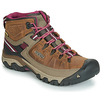 Shoes Women Hiking shoes Keen TARGHEE III MID WP Brown / Pink