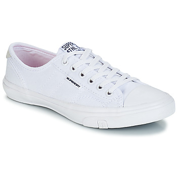 Shoes Women Low top trainers Superdry LOW PRO SNEAKER White