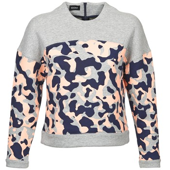 material Women sweaters Kookaï EXEDOU Grey / Multicoloured