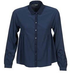 material Women Shirts Kookaï QUELATE Marine