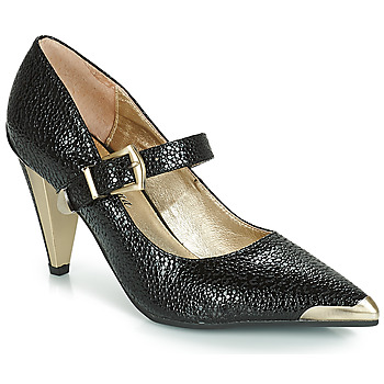 Shoes Women Court shoes Lola Ramona RAMONA Black / Gold
