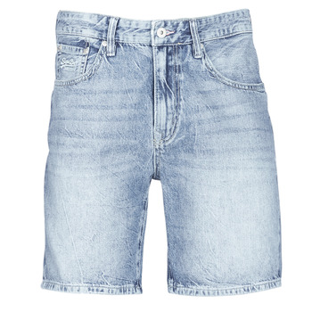 material Men Shorts / Bermudas Superdry CONOR TAPER SHORT Blue