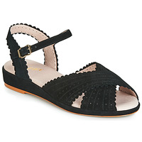 Shoes Women Sandals Miss L'Fire BRIGITTE Black