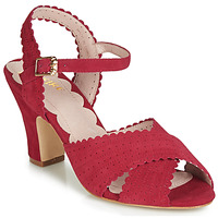 Shoes Women Sandals Miss L'Fire BEATRIZ Red