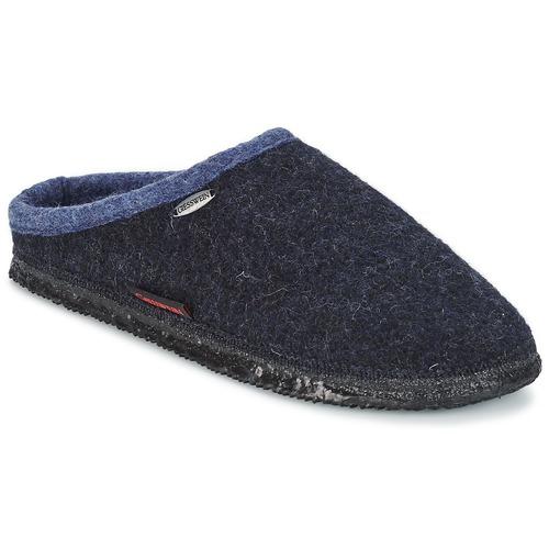 Shoes Slippers Giesswein DANNHEIM Marine