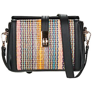 Bags Women Messenger bags André ELSA Black / Multicoloured