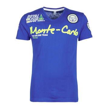 material Men short-sleeved t-shirts Geographical Norway JARO Blue