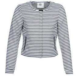 material Women Jackets / Blazers Vero Moda MALTA Marine / White