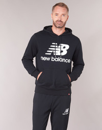material Men sweaters New Balance NB SWEATSHIRT Black