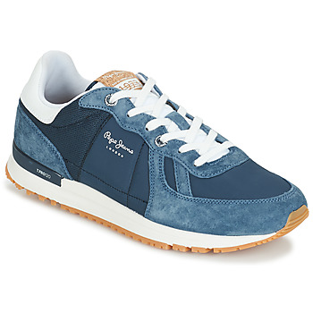 Shoes Men Low top trainers Pepe jeans TINKER PRO Blue