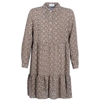 material Women Short Dresses Betty London JECREHOU Beige / Brown