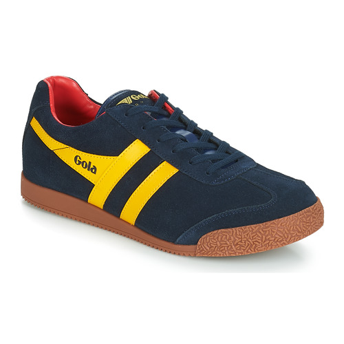 Shoes Men Low top trainers Gola HARRIER Blue / Yellow